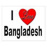 I Love Bangladesh Small Poster