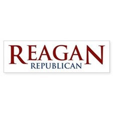 Reagan Republican Bumper Bumper Sticker