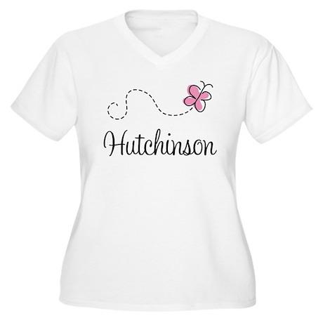Pretty Hutchinson Kansas Women's Plus Size V-Neck