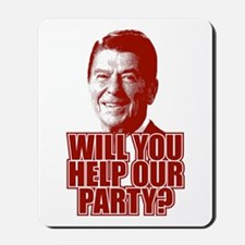 Help Our Party Mousepad