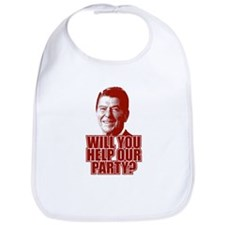 Help Our Party Bib