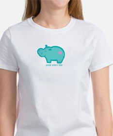 Smile Hippo Women's T-Shirt