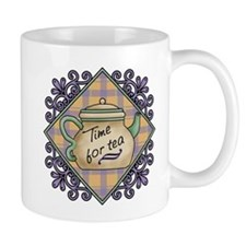 Time for Tea Fancy Trivet Mug