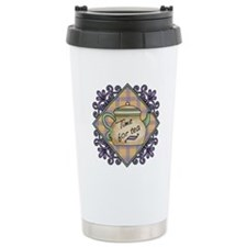 Time for Tea Fancy Trivet Travel Mug