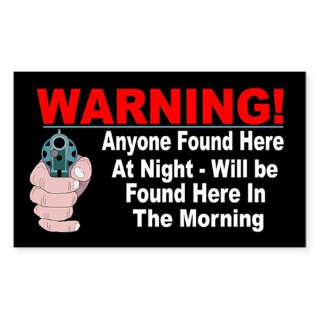 Property Security Warning