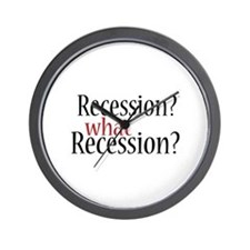What Recession? Wall Clock