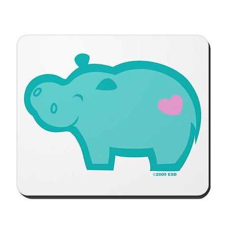 Hippo Mousepad