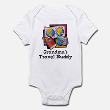 Grandma's Travel Buddy Infant Bodysuit