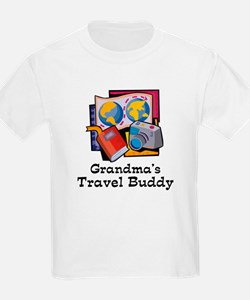Grandma's Travel Buddy T-Shirt