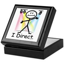 Theater Play Director Keepsake Box