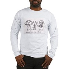 The Comic Book Kids Long Sleeve T-Shirt