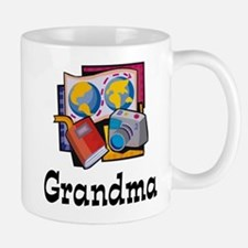 World Traveler Grandma Mug