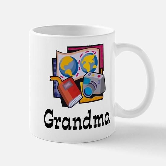 World Traveler Grandma Mug