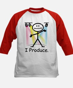 Theater Play Producer Kids Baseball Jersey