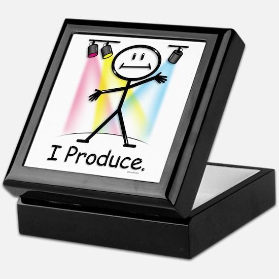 Theater Play Producer Keepsake Box