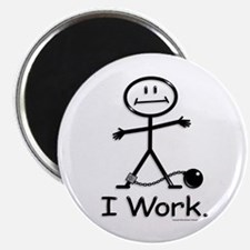 "Work 2.25"" Magnet (10 pack)"