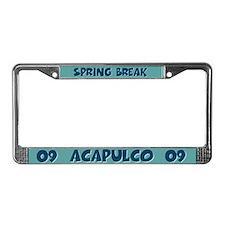 Spring Break Acapulco License Plate Frame