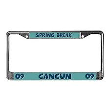 Spring Break Cancun License Plate Frame