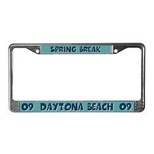 Spring Break Daytona Beach License Plate Frame