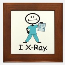 BusyBodies X-Ray Tech Framed Tile