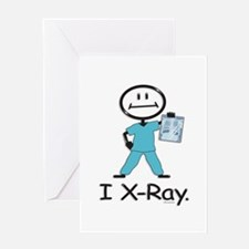 BusyBodies X-Ray Tech Greeting Card