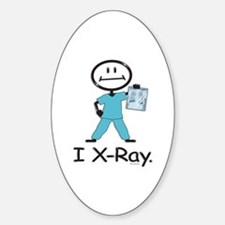 BusyBodies X-Ray Tech Oval Decal