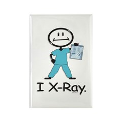 BusyBodies X-Ray Tech Rectangle Magnet
