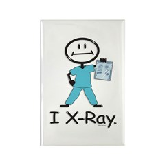 BusyBodies X-Ray Tech Rectangle Magnet (100 pack)