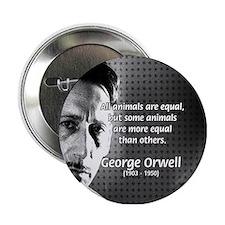 Animal Farm: George Orwell Button
