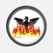 Unique Firebird Wall Clock