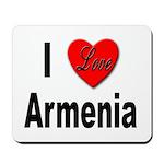 I Love Armenia Mousepad