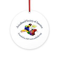 ASA Logo Gear Ornament (Round)