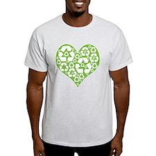 Green Heart Recycle T-Shirt
