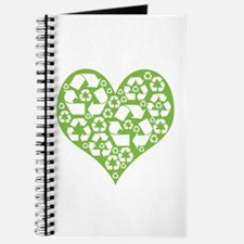 Green Heart Recycle Journal