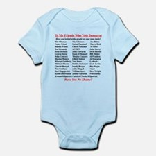 """Dems Hall of Shame"" Infant Bodysuit"
