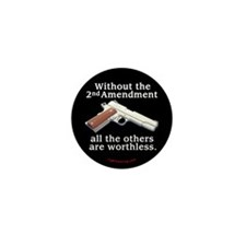 2nd Amendment Mini Button