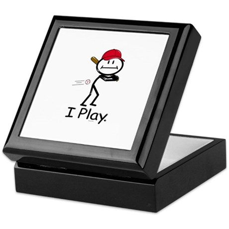 BusyBodies Baseball Keepsake Box