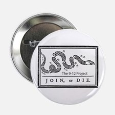 """Join or die! The 912 project 2.25"""" Button"""