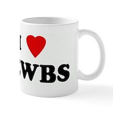 I Love NEWBS Mug