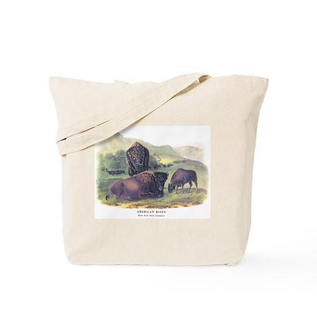 Audubon American Bison Buffalo Tote Bag