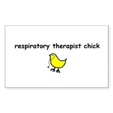 RT chick Rectangle Decal