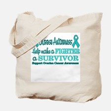 Fighters and Survivors Ovaria Tote Bag
