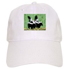 Two Skunks Baseball Baseball Cap