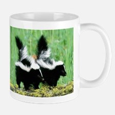 Two Skunks Mug