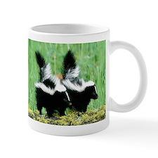 Two Skunks Mug