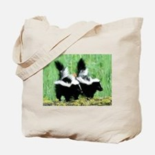 Two Skunks Tote Bag