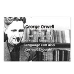 George Orwell: Language Thought Postcards (Package