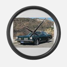 1973 Cutlass Coupe Large Wall Clock