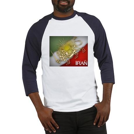Iran Golden Lion & Sun Baseball Jersey