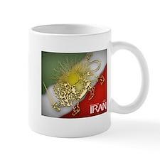 Iran Golden Lion & Sun Mug